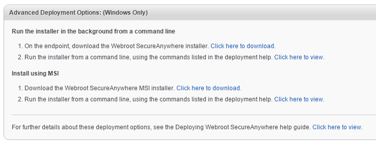 Deployment email 2