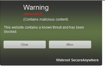 Web protection